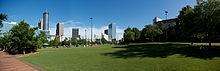 Atlanta Tourist Destinations Centennial Olympic Park