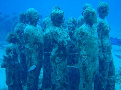 Cancun Places to Visit Cancun Underwater Art Museum