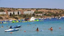 Malta Tourist Attractions Mellieha Bay Beach