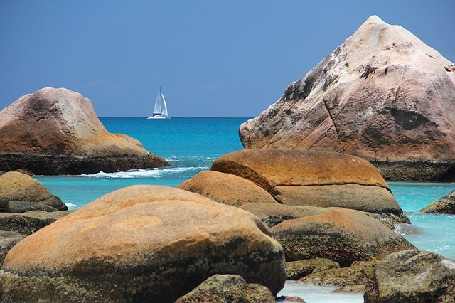Seychelles Points of Interest Sea