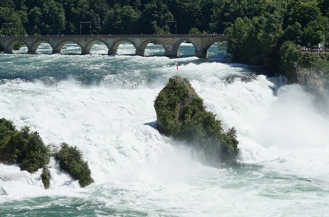Visiting The Adventure Park at the Rhine Falls