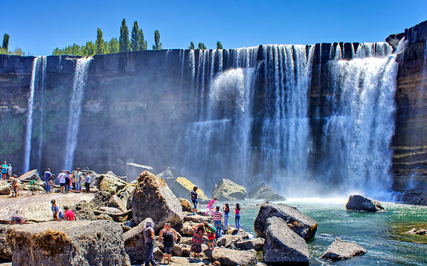 Places to Visit and Where to go in Chile Laja Falls