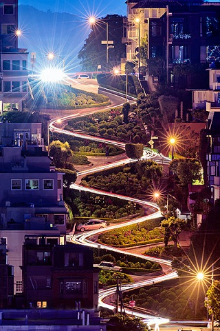 San Francisco Things To Do and Places to visit Lombard Street