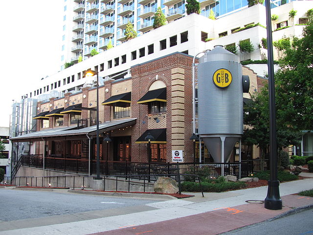 Atlanta Gordon Biersch Brewery Restaurant Midtown