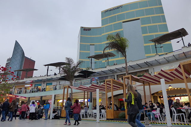 Lima Vacation Travel Guide and Points of Interest Larcomar Shopping Center