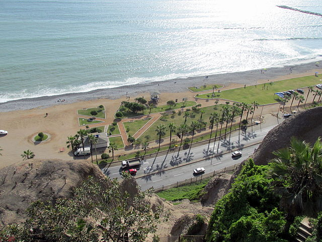 Lima Vacation Travel Guide and Pointss of Interest Sunny Beach at Lima