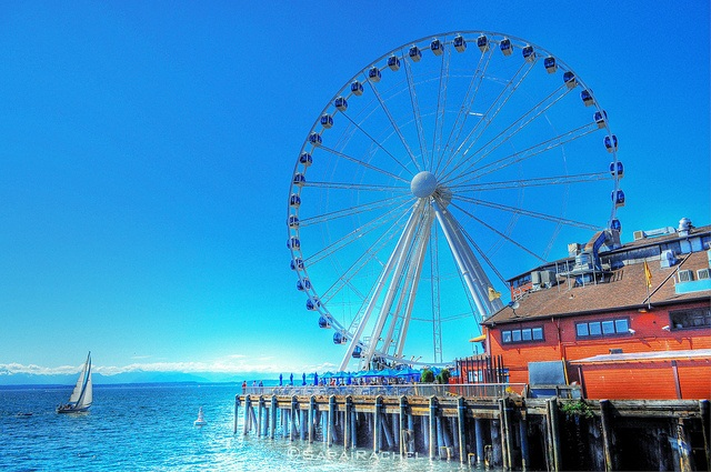 Seattle Travel Guide Great Wheel