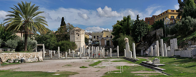 Athens places to visit Roman Agora