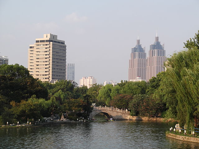 Shanghai travel guide and places to visit Changfeng Park