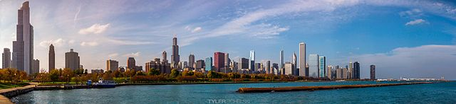 Chicago Attractions and Sights Chicago  skyline