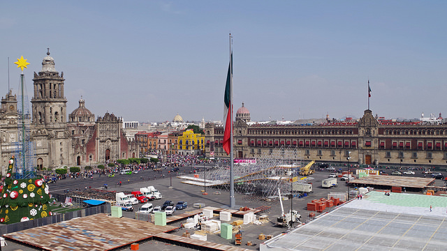 Mexico Travel Guide Zocalo Mexico City's main square